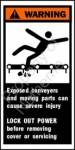 CEMA Conveyer Safety Labels